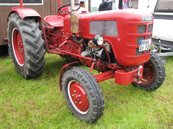 fahr traktor d 177