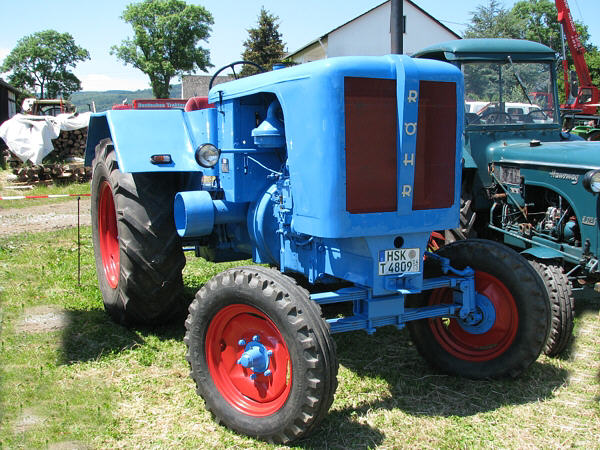 Fahrzeugseitende Traktoren Röhr 60r R60 60hr Und Hr60 Titan